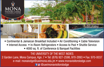 Mona Visitors' Lodge & Conference Cen - Hotels & Resorts