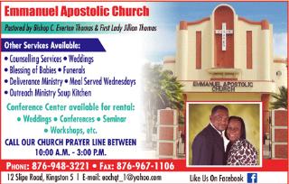 Emmanuel Apostolic Church - Churches | FindYello