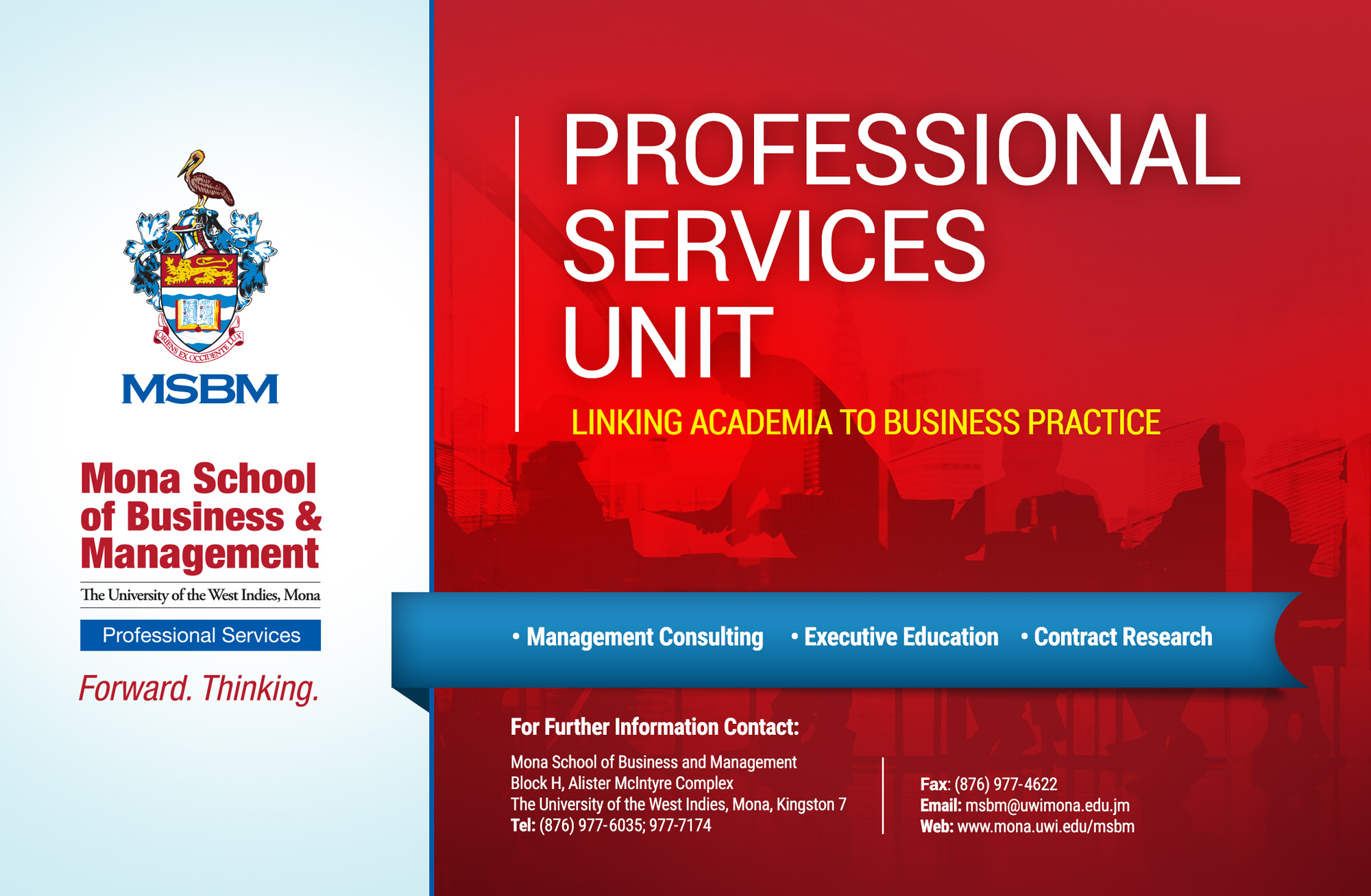 Mona School Of Business And  Management - Schools-Academic-Universities & Colleges