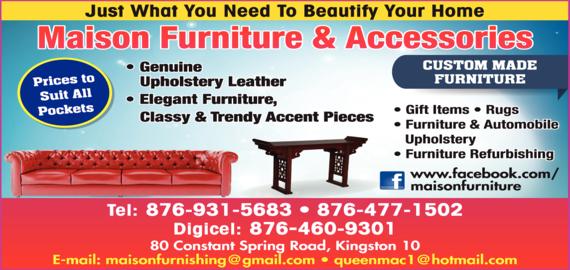 Maison Furniture & Accessories - Furniture-Retail