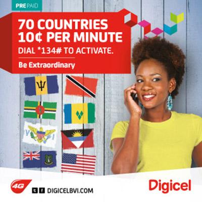 Digicel BVI Ltd - Telecommunication Companies & Services | FindYello