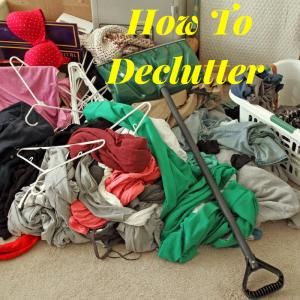 """""""declutter'"""
