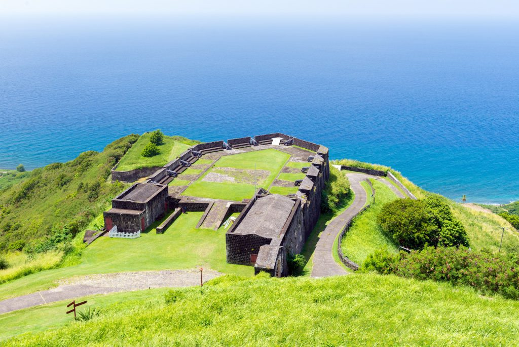 Brimstone Hill Fortress St Kitts.