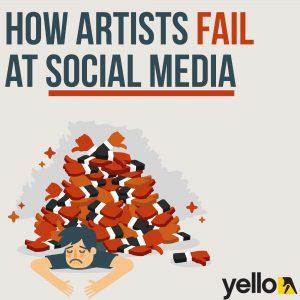 artists social media tips
