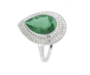 """emerald ring"""