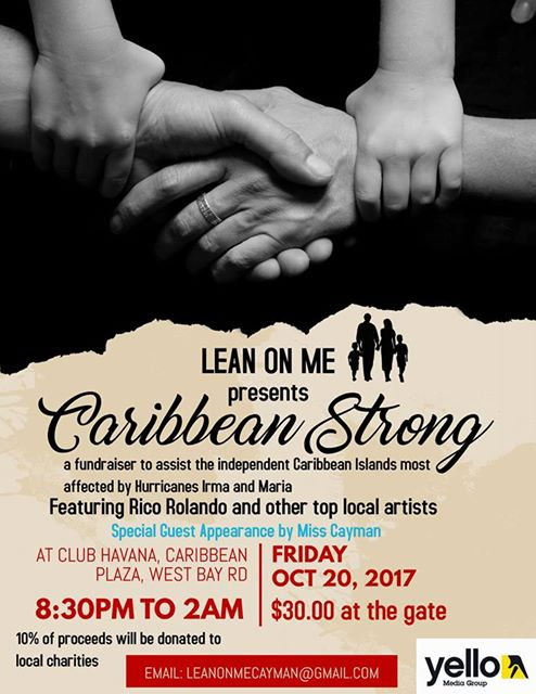 lean-on-me-caribbean-strong-poster
