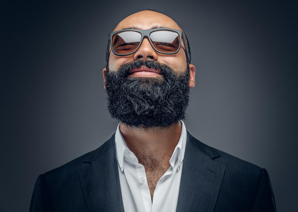 'man with beard'