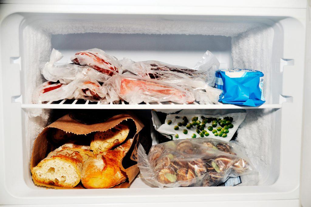 Freezer compartment of a refrigerator