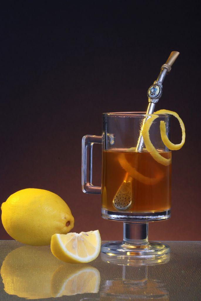 Earl Gray Tea with Sip Strainer