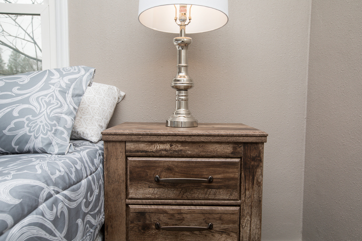 Night Stand Bedside Table