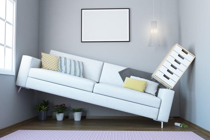 Too Small Living Room Interior