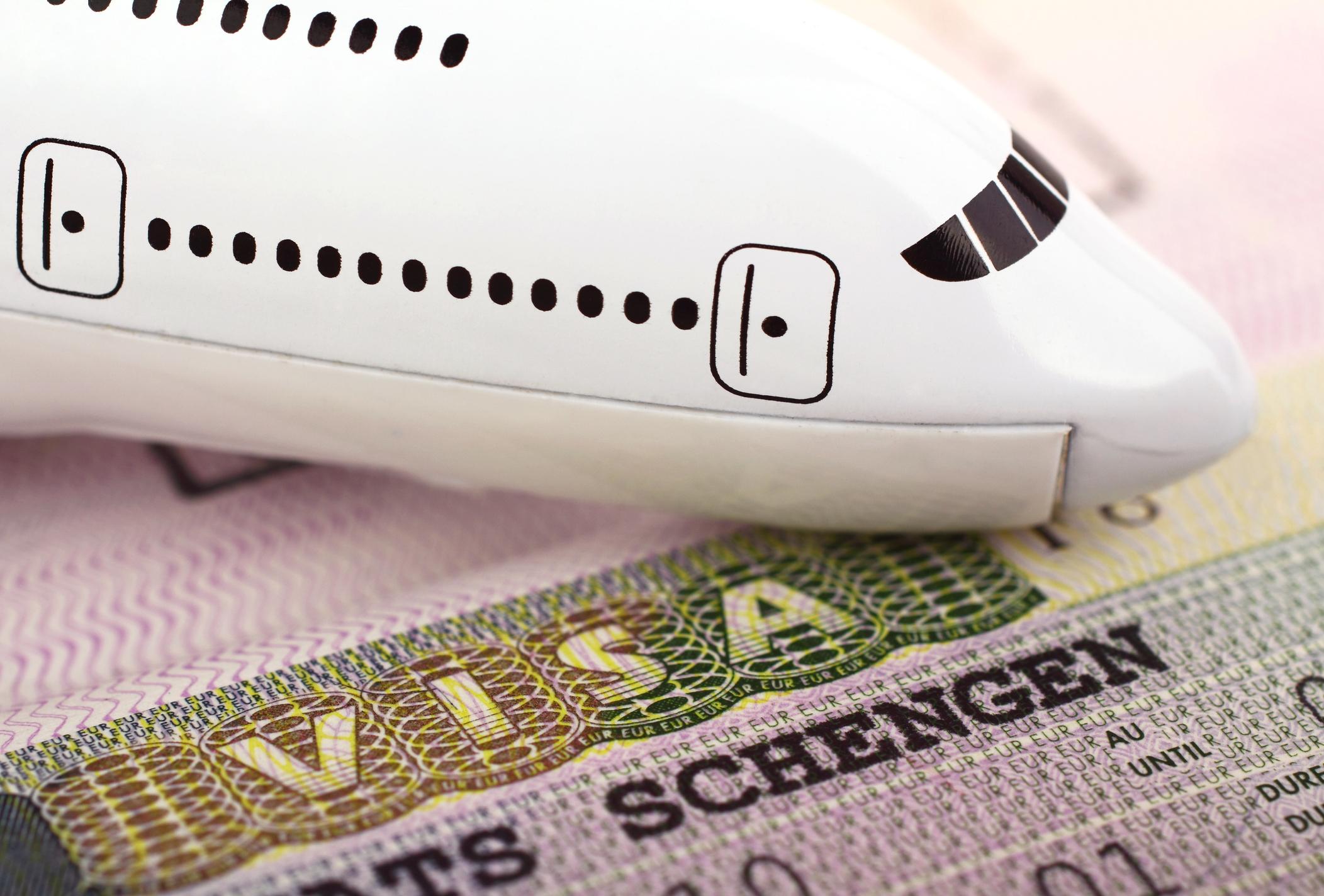 Image of Schengen Visa.