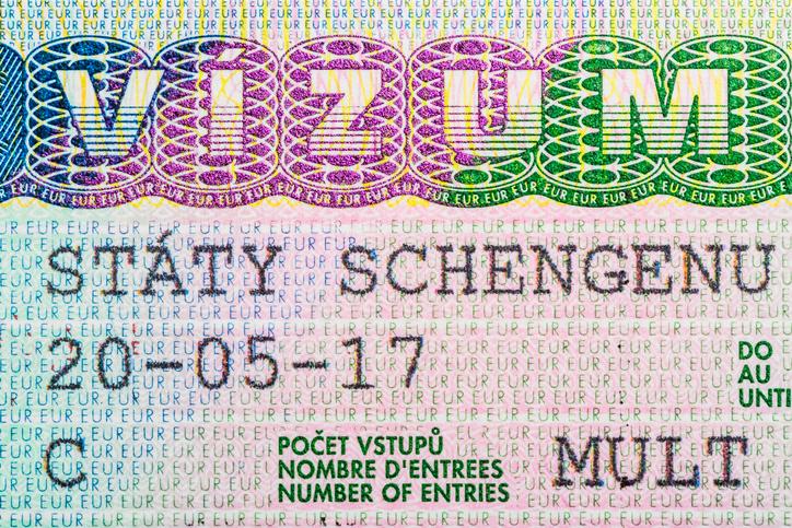 A multi entry Schengen Visa