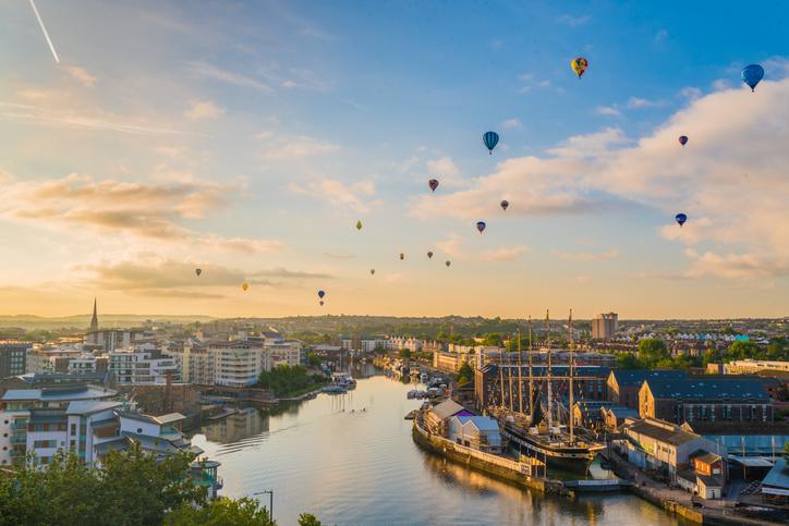 Bristol International Balloon Festival.