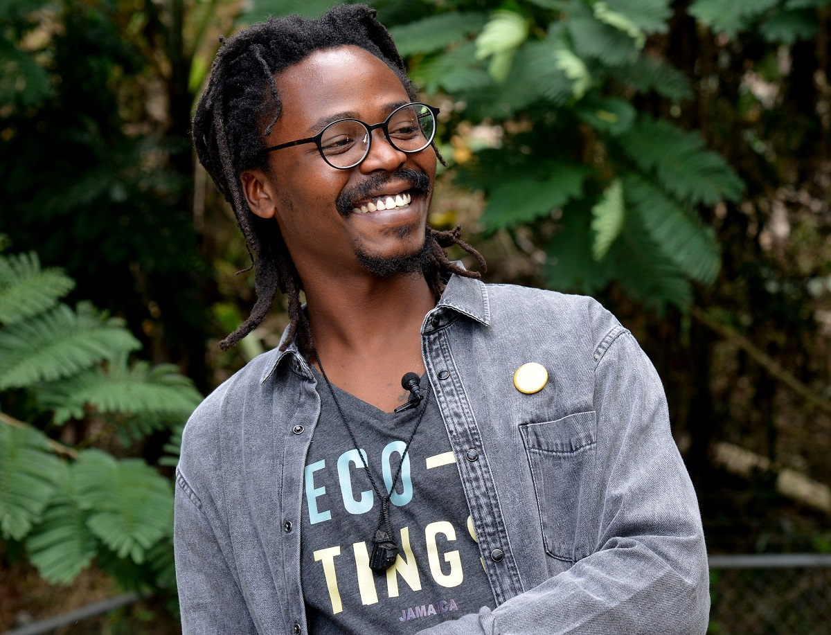 Eco Tings founder Sameel Johnson.