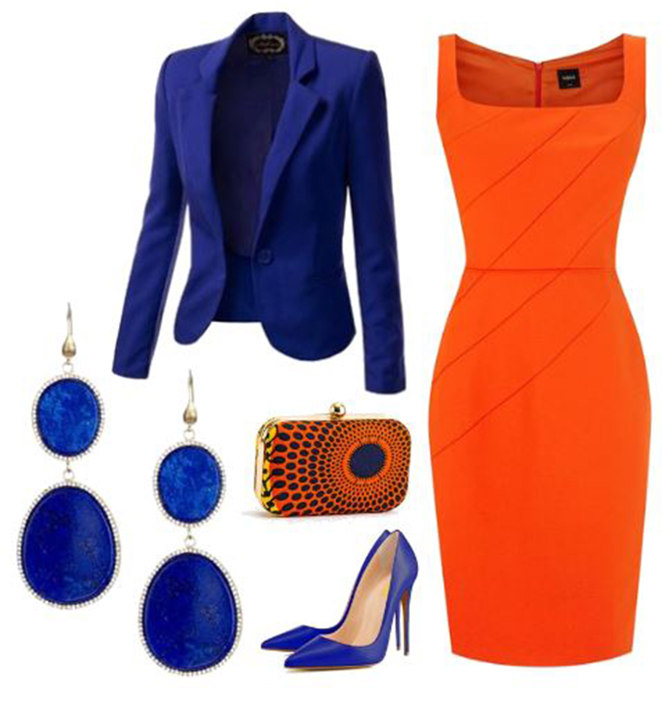 This image has an empty alt attribute; its file name is Colour-Orange-Dress-Cobal-Jacket.jpg