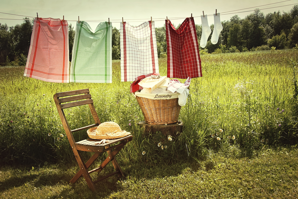 Washing on line