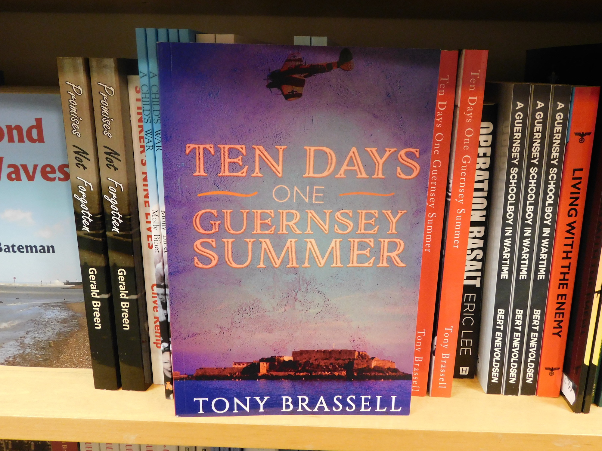 """""""Front cover of Ten Days One Guernsey Summer"""""""